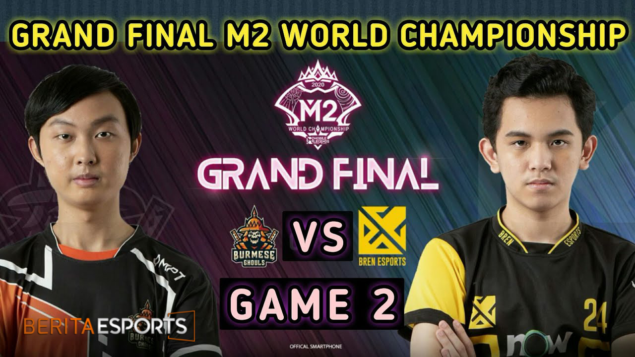 Grand Final M2 Sengit! Bren Esports Sukses Kandaskan Burmese Ghouls!