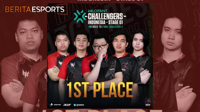 Boom Memimpin Final Q1 Valorant Challengers Indonesia