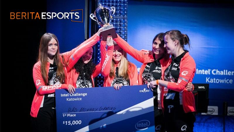 Adanya Peningkatan Persentase Gamer Wanita di Esports