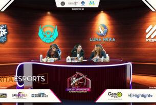 Dignity of Srikandi Jadi Ajang Laga Tim Esports Ladies!
