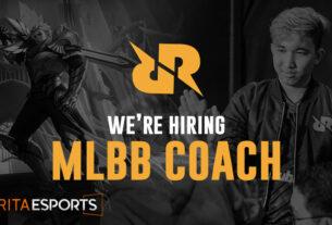Anda Punya Bakat Coach Mobile Legends? RRQ Buka Lowongan Kerja Bagi Anda!