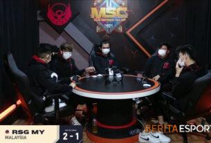 Kandas di MSC 2021, Bigetron Blunder Fatal Oleh Comeback RSG MY