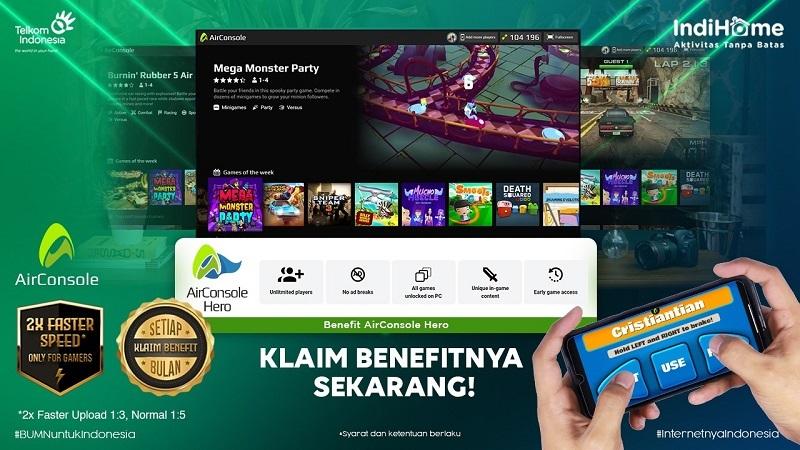 Melon Indonesia Umbar Janji Berikan Experience Gaming Baru, Setelah Gandeng AirConsole